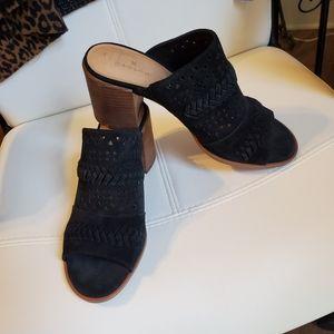 CASLON leather shoes mules sandals 9M